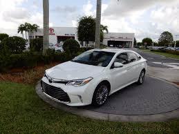 2016 used toyota avalon 4dr sedan xle premium at royal palm toyota
