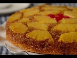 pineapple upside down cake recipe demonstration joyofbaking com