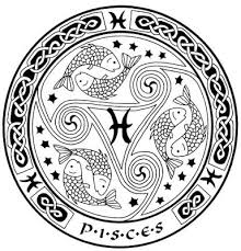 zodiac pisces celtic circle tattoos design in 2017 real photo