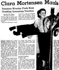 forget u0027glow u0027 portland has a long history of wild women wrestling