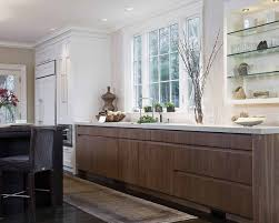 kitchen cabinets no handles lenox street traditional kitchen boston by venegas and company