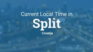 Map Of Croatia And Italy by Current Local Time In Split Croatia