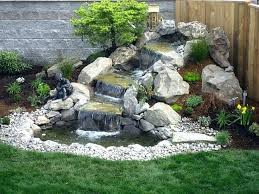 Rock Garden With Water Feature Water Feature Gardening Saleros Club