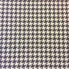 Houndstooth Home Decor by Houndstooth Grey White Geo Grid Heavy Textured Chenille Upholstery