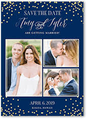 inexpensive save the dates blue save the date cards shutterfly