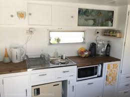 Caravan Interior Storage Solutions Ikea The S T Out Of It Living In A Caravan Camper Kitchen