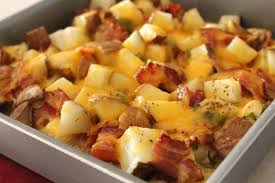 Potatoes As Main Dish - delicious as it looks loaded baked potato u0026 chicken casserole