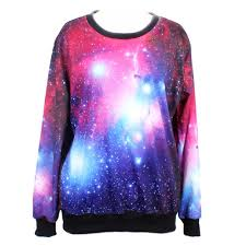 galaxy sweater galaxy sweatshirt sudadera galaxia wh342 kawaii clothing