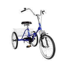 amazon com mantis tri rad folding tricycle 20 inch wheels