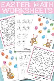 collections of free printable easter worksheets for kindergarten