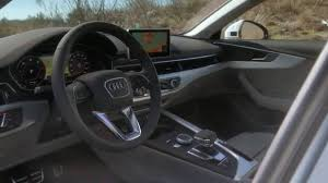audi a4 2016 interior audi a4 allroad quattro 2016 interior design trailer automototv