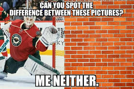 Hockey Goalie Memes - nhl memes on twitter darcy kuemper is yet to allow a goal this