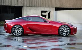 lexus lc lf price lexus lf lc hybrid concept coupe pictures and details
