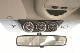 dodge ram overhead console auto meter 18017 mount overhead console 2 1 16in