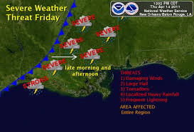 us weather map cold fronts slight chance of severe thunderstorms on friday national weather