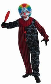 Scariest Costumes Halloween Create Men U0027s Scary Clown Costume Accessories Party