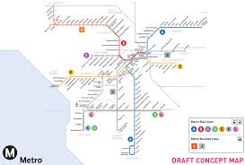 Metrorail Map Metro Proposes New Letter Designations For Rail And Brt Lines