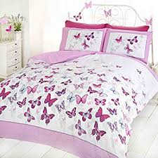 Double Bed Duvet Size Butterfly Duvet Set Pink Double Bed Size Bedding Cover Set