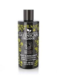 organic shower gel greenscape organic body wash bath shop greenscape organic shower gel mint and bergamot soil association cosmos organic