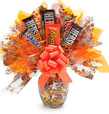 candy arrangements candy vase to with the office or not