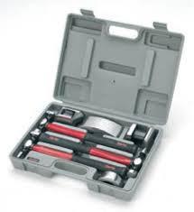 attrezzi carrozziere kit martelli e incudini da carrozziere battilastra clarke cpb7c