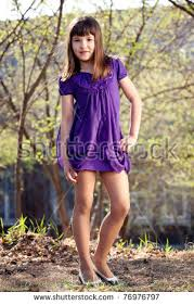 preteen girl modeling little girl 1013 years old stock photo image royalty free