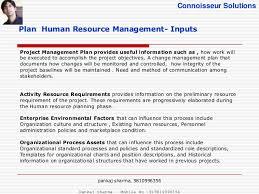 project human resource management pmbok 5