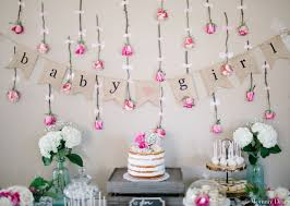 for baby shower how to girl baby shower wall