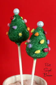 Christmas Trees How To Make Christmas Tree Cake Pops Pint Sized Baker
