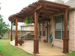 Western Outdoor Designs by Free Standing Wood Tellis Patio Covers Gallery Western Outdoor