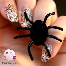 nail art 40 unbelievable spider nail art pictures ideas spider