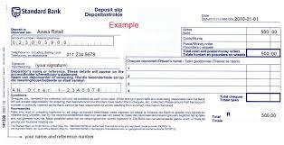 4 deposit slip templates word formats examples in word excel