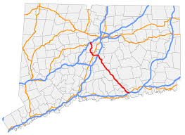 Connecticut State Map by Connecticut Route 9 Wikipedia
