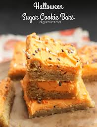 halloween sugar cookie bars i dig pinterest