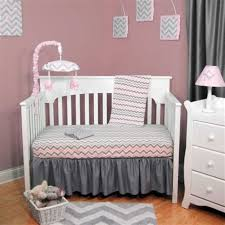 grey chevron baby bedding pink and gray chevron baby pink and