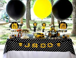 bumblebee party supplies transformers birthday transformers 5th birthday catch my party