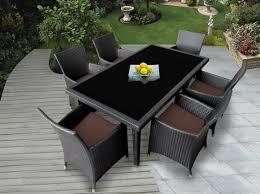 11 Piece Patio Dining Set - genuine ohana outdoor patio wicker furniture 7pc all weather