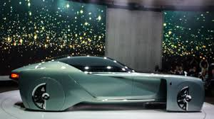 roll royce future car rolls royce vision 100 looks forward and back to 3d printed