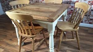 Rustic Farmhouse Dining Room Tables Marvelous Large Rustic Farmhouse Oak Kitchen Dining Table