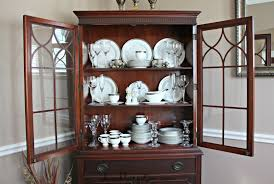 A Second Picture Of How To Arrange My Dining Cabinet A Humble