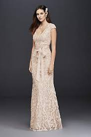 outdoor wedding dresses casual informal wedding dresses david s bridal