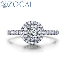 aliexpress buy new arrival hight quality white gold aliexpress buy new arrival zocai brand sky 2 0 carat