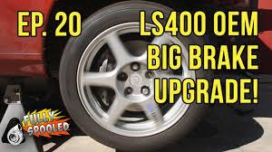 lexus sc300 oem parts lexus sc drift build ep 20 ls400 oem big brake upgrade bbk