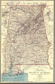 Map Of Florida And Georgia by Alabama Maps Alabama Digital Map Library Table Of Contents