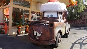 cars characters mater more than 20 disneyland characters you rarely or never meet at