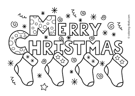 25 merry christmas coloring pages ideas