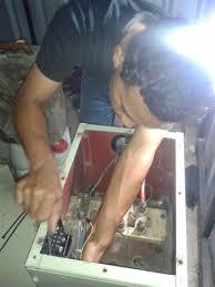 service genset voltage tidak keluar service genset