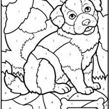 awesome number printable coloring pages kitty coloring