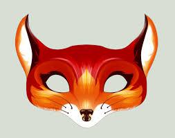 diy costume ideas for kids printable fox mask craftsforkids