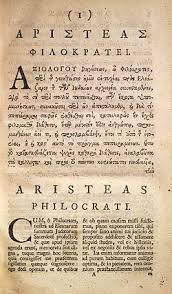 letter of aristeas wikipedia